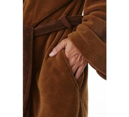 Peignoir Adulte Marron Avec Ceinture Jedi Star Wars