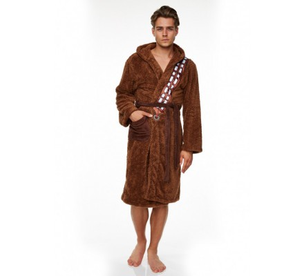 Peignoir Adulte  Marron Chewbacca Star Wars