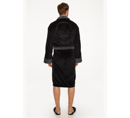 Peignoir Adulte Noir Dark Vador Dos Star Wars