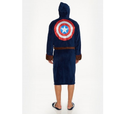 Peignoir Bleu Civil War Captain America