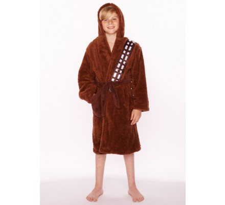 Peignoir Enfant Marron Chewbacca Star Wars