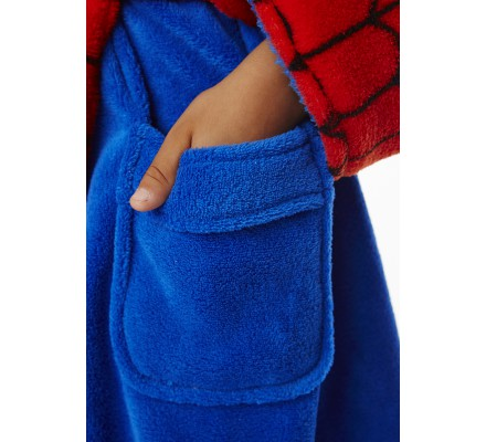 Peignoir Enfant Retro Spiderman