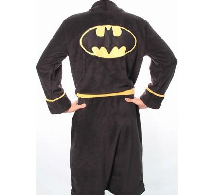 Peignoir Noir Logo Batman