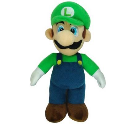 Peluche Luigi Mario 20cm Nintendo