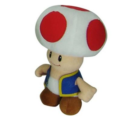 Peluche Toad Mario 20cm Nintendo