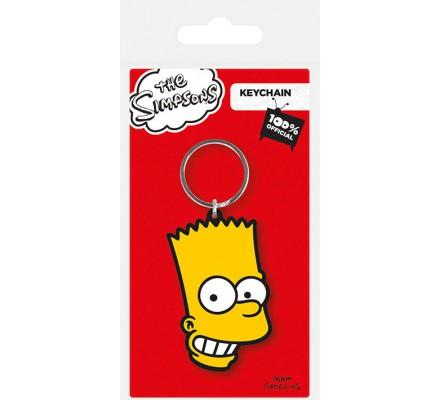 Porte-clés Caoutchouc Bart Simpsons