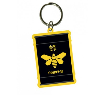 Porte-clés caoutchouc Golden Moth Breaking Bad