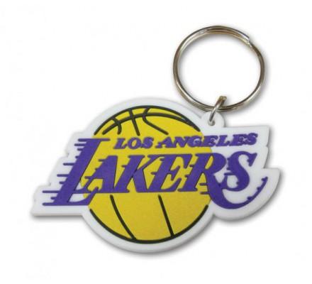 Porte-clés Caoutchouc Lakers NBA