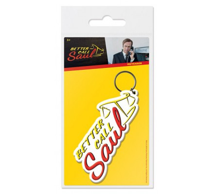 Porte-clés caoutchouc Logo Better Call Saul