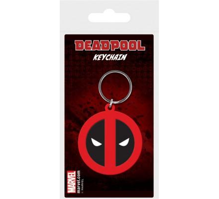 Porte-clés Caoutchouc Logo Deadpool