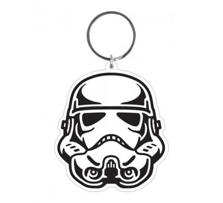 Porte-clés Caoutchouc Stormtrooper 6 cm Star Wars