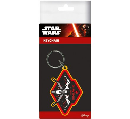 Porte-clés Caoutchouc X Wing Ep 7 Star Wars