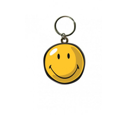 Porte-clés Face Smiley
