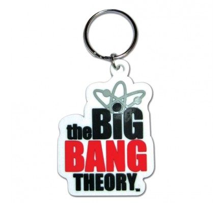 Porte-clés Logo 6cm The Big Bang Theory