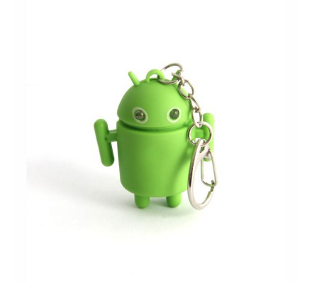 Porte-clés Robot Android Geek