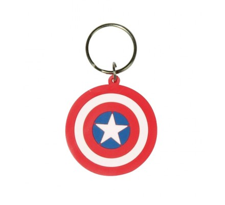Porte-clés Shield 7cm Captain America