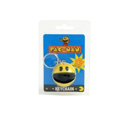 Porte-clés sonore Jaune Pacman