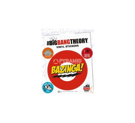 Pack de 5 Stickers Big Bang Theory