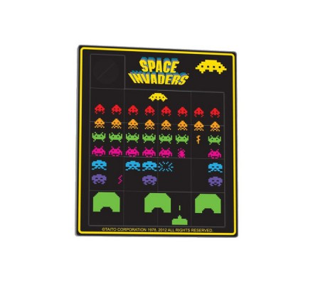 Puzzle Coulissant Space Invaders