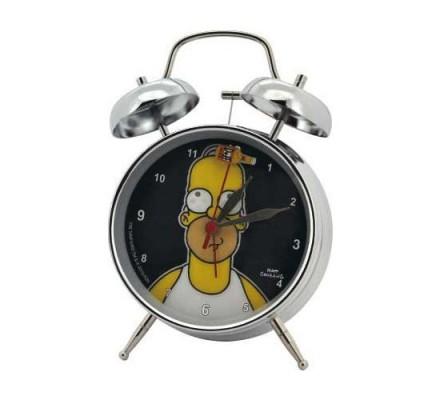 Réveil Homer 10 cm Simpsons