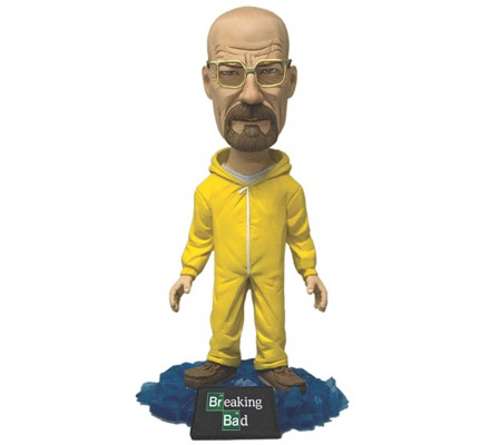 Bobble Head Walter White Combinaison Jaune 15 cm Breaking Bad