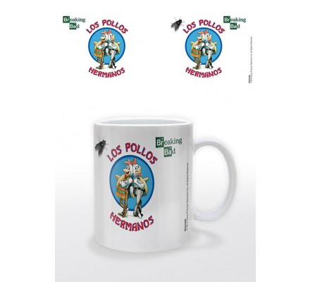 Mug blanc Los Pollos Hermanos Breaking Bad