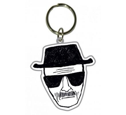 Porte-clés caoutchouc Heisenberg Breaking Bad