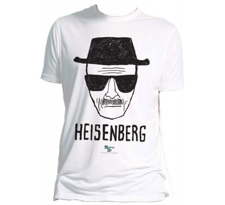 Tee-Shirt Blanc Heisenberg Breaking Bad