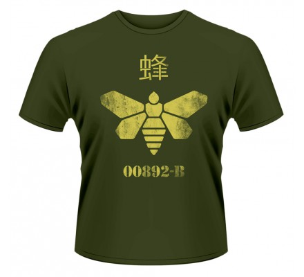 Tee-Shirt Kaki Abeille Baril Breaking Bad