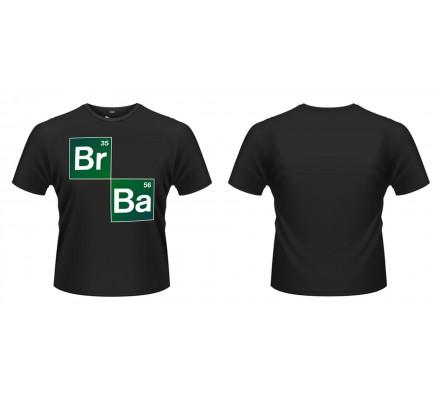 Tee-Shirt Noir Br Ba Breaking Bad