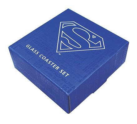 Set 4 Sous-Verres Collection Superman