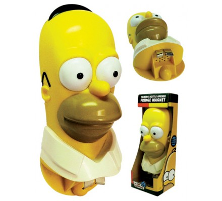 Décapsuleur Sonore Géant Homer Simpsons
