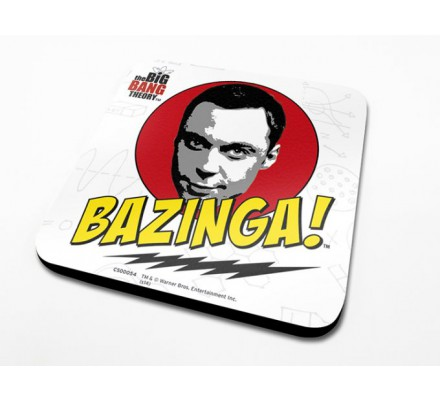 Sous-Verre Bazinga 10 x 10cm Big Bang Theory