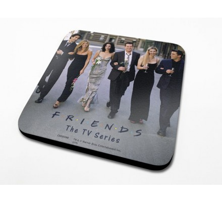 Sous-Verre Cast 10 x 10cm Friends