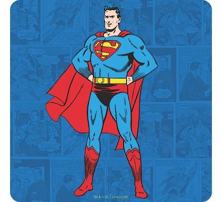 Sous-Verre en liège Standing Superman