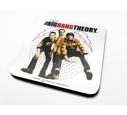Sous-Verre Fisheye 10 x 10cm Big Bang Theory