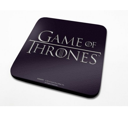 Sous-Verre Logo 10 x 10cm Game of Thrones