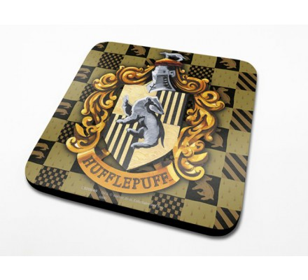 Sous-Verre Poufsouffle 10 x 10cm Harry Potter