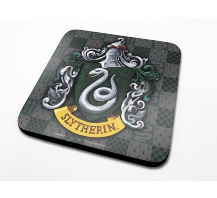 Sous-Verre Serpentard 10 x 10cm Harry Potter