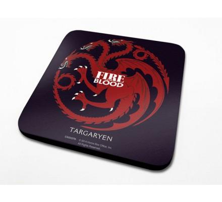 Sous-Verre Targaryen 10 x 10cm Game of Thrones