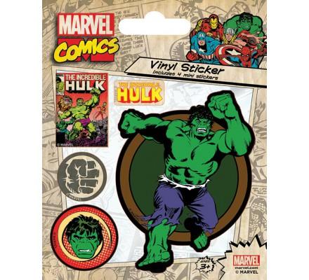 Stickers Retro Hulk