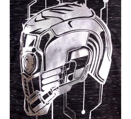 T-Shirt Helmet Star Lord Gardiens de la Galaxie