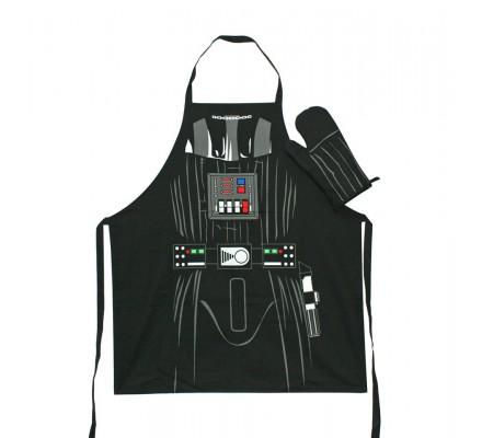 Tablier Adulte Cuisine + Gant Tissu Dark Vador Star Wars