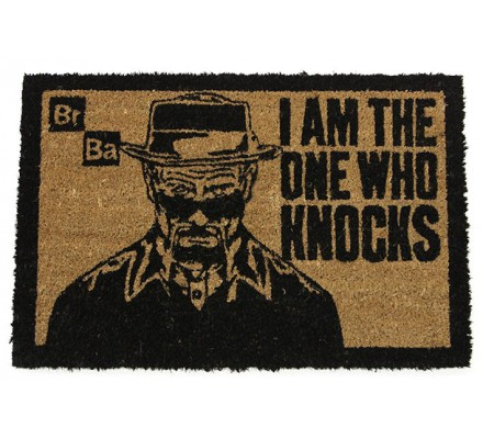 Tapis, Paillasson I Am The One Who Knocks 40x60 Breaking Bad