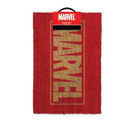 Tapis, Paillasson Rouge Logo 40x60 Marvel