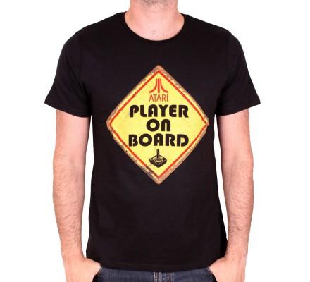 Tee-Shirt Atari Player on Board