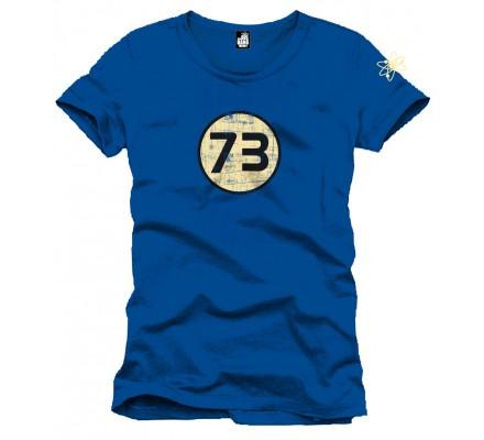 Tee-Shirt Bleu 73 Perfect The Big Bang Theory