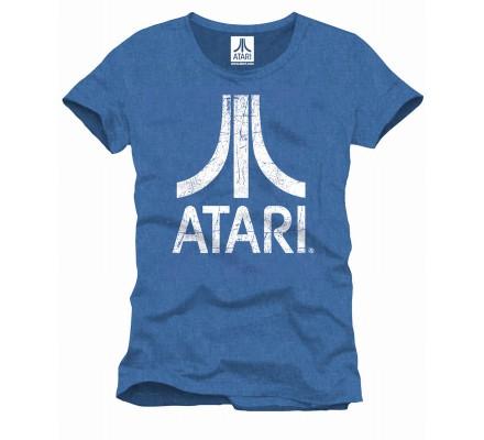 Tee-Shirt Bleu Atari Geek