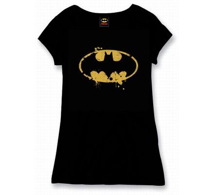 Tee Shirt Femme Noir Vintage Batman