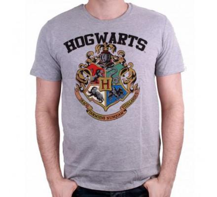 Tee-Shirt Gris Poudlard Harry Potter